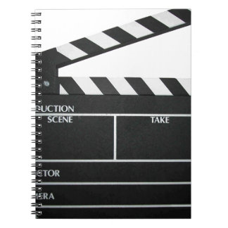 Clapboard movie slate clapper film notebooks