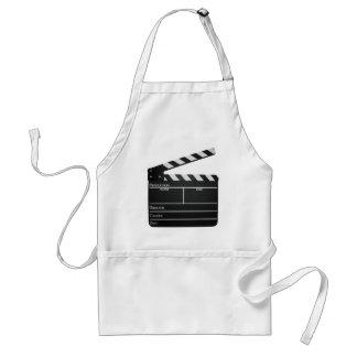 Clapboard movie slate clapper film standard apron