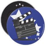 Clapperboard Badge