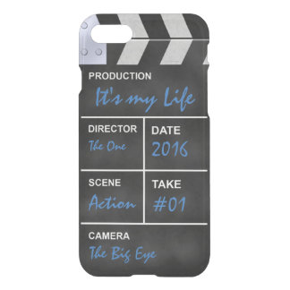 "Clapperboard cinema ""It's my Life"" iPhone 8/7 Case"