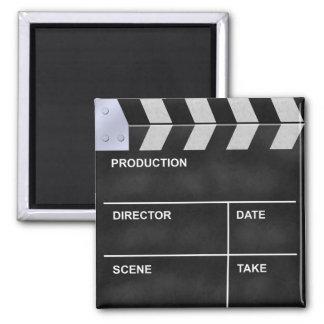 clapperboard cinema magnet