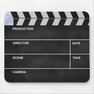 clapperboard cinema mouse mat