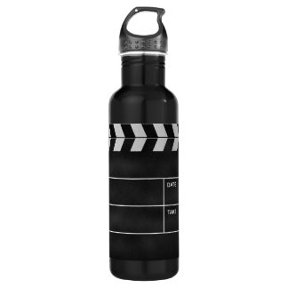 clapperboard cinema 710 ml water bottle
