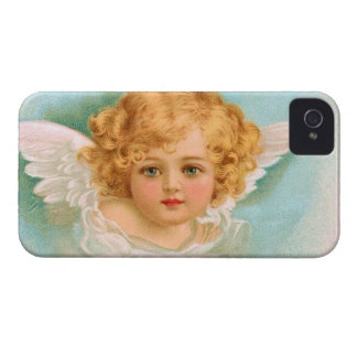 Clapsaddle: Charming Christmas Angel iPhone 4 Cover