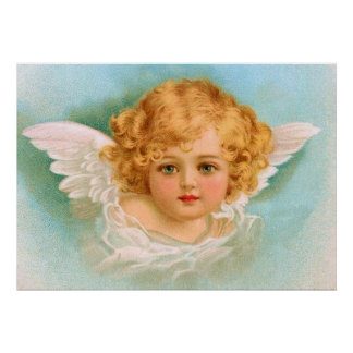 Clapsaddle Charming Christmas Angel Posters