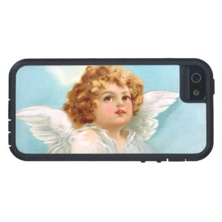 Clapsaddle: Charming New Year Angel Cover For iPhone 5