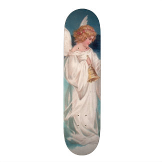 Clapsaddle: Christmas Angel with Bell 19.7 Cm Skateboard Deck