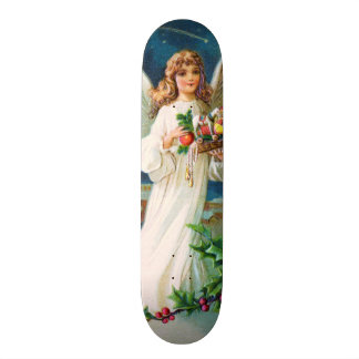 Clapsaddle: Christmas Angel with Toys Skateboard Deck