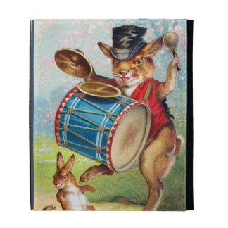 Clapsaddle: Drumming Rabbit iPad Folio Cover