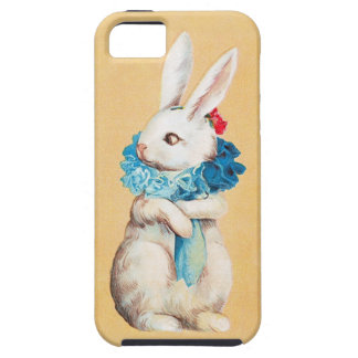 Clapsaddle: Easter Bunny Girl with Ruff iPhone 5 Cases