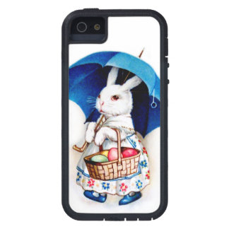 Clapsaddle Easter Bunny Girl with Umbrella Case For iPhone 5/5S