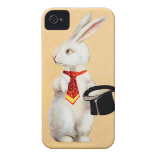 Clapsaddle: Easter Bunny with Tie Case-Mate iPhone 4 Case