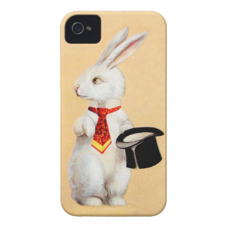 Clapsaddle Easter Bunny with Tie iPhone 4 Cover