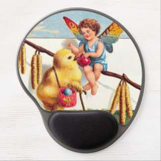 Clapsaddle: Easter Fairy with Chicken Gel Mouse Pad