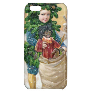 Clapsaddle Fir Boy with Doll iPhone 5C Case