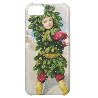 Clapsaddle: Fir Boy with Snowball iPhone 5C Cover