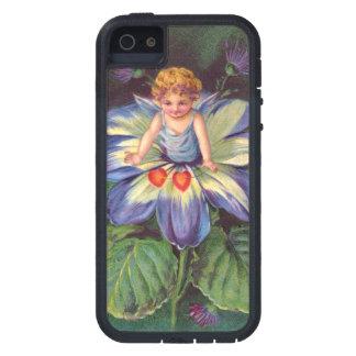 Clapsaddle: Flower Cherub Aster iPhone 5 Case