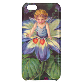 Clapsaddle Flower Cherub Aster iPhone 5C Cover