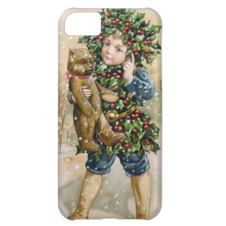 Clapsaddle: Holly Boy with Teddy iPhone 5C Case
