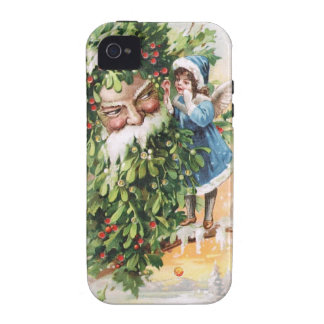Clapsaddle Holly Father Case For The iPhone 4