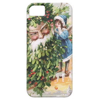 Clapsaddle: Holly Father iPhone 5 Covers