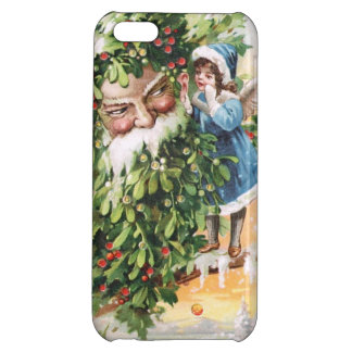 Clapsaddle Holly Father Cover For iPhone 5C