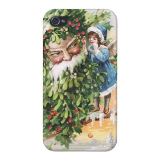 Clapsaddle Holly Father iPhone 4 Cases