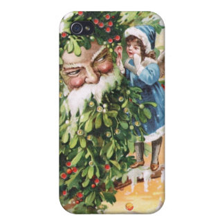 Clapsaddle Holly Father Case For iPhone 4