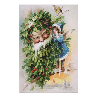 Clapsaddle Holly Father Poster