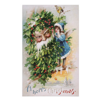 Clapsaddle Holly Father Posters
