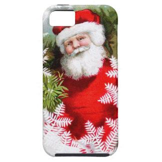 Clapsaddle: Santa Claus with Mistletoe iPhone 5 Case
