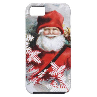 Clapsaddle: Santa Claus with Toys and Fir Twigs iPhone 5 Covers