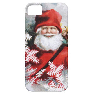 Clapsaddle: Santa Claus with Toys and Fir Twigs iPhone 5 Case