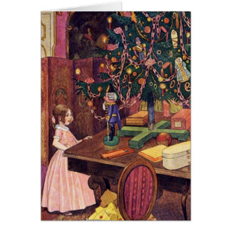 Clara and the Nutcracker Card