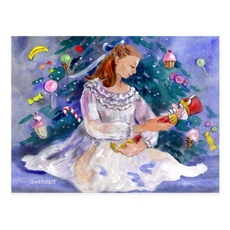 Clara and the Nutcracker Postcard