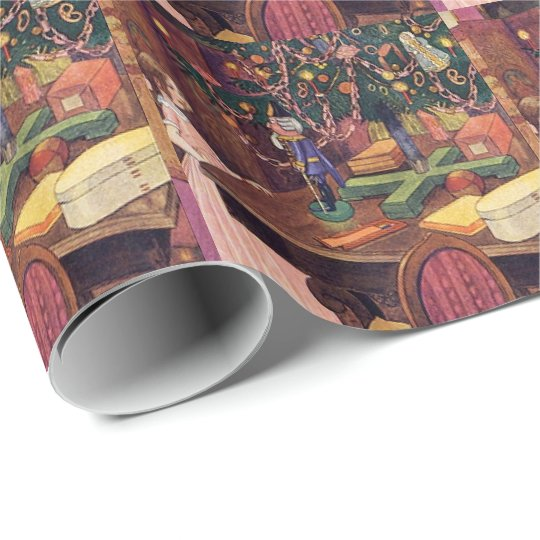 Clara and the Nutcracker Wrapping Paper