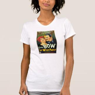 "Clara Bow ""The Wild Party"" 1929 movie poster Tee Shirt"