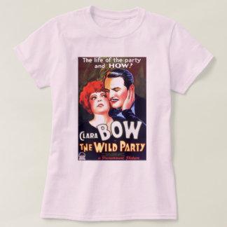 Clara Bow vintage 1929 movie poster T-shirt