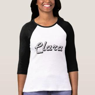 Clara Classic Retro Name Design Shirt