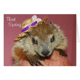 Clara Groundhog Day Card