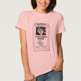 Clara Kimball Young 1920 vintage movie ad T-shirt