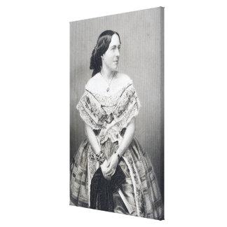 Clara Novello Canvas Print