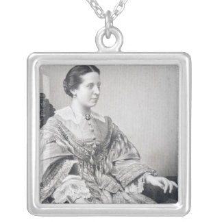 Clara Novello Silver Plated Necklace