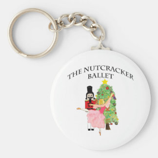 clara_nutcracker xmas basic round button key ring