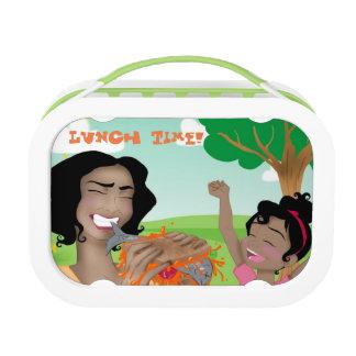 ClaraBelle Blue & Mom Lunchbox