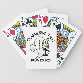 Claranormal Talk Radio Playing Cards
