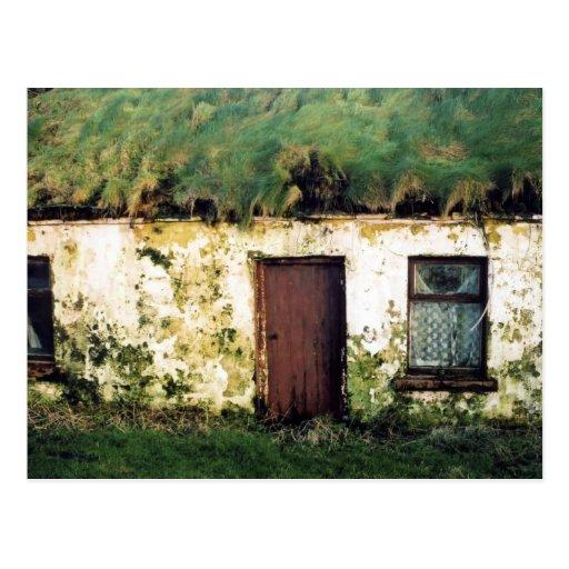 clare cottage postcard