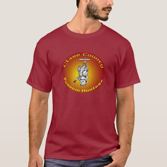 Clare County Ireland Possum Hunters T Shirt Colour