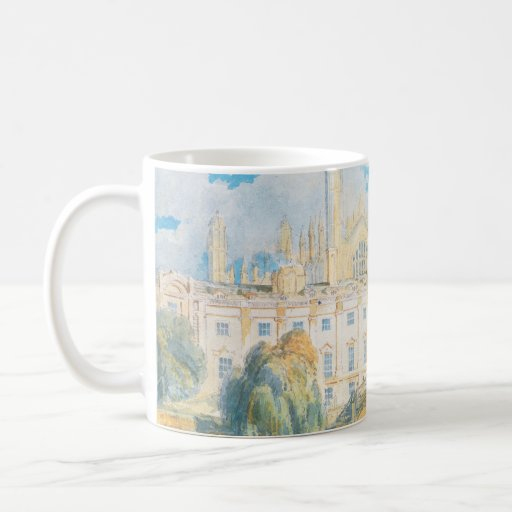 Clare Hall and King's College Chapel, Cambridge, Mugs