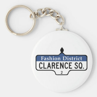 Clarence Square, Toronto Street Sign Keychains